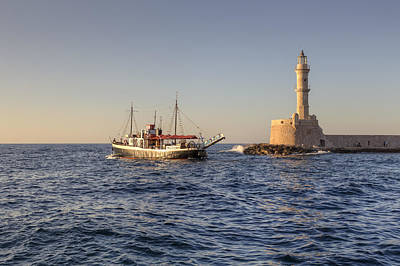 Crete Photograph - Chania - Crete by Joana Kruse