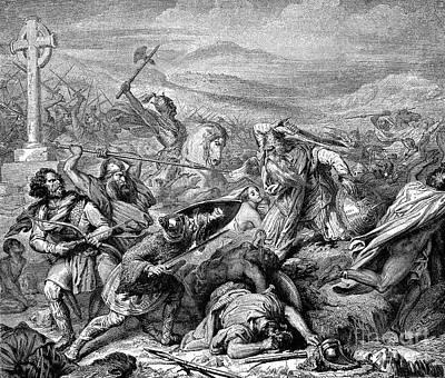 French Er Photograph - Charles Martel (c688-741) by Granger