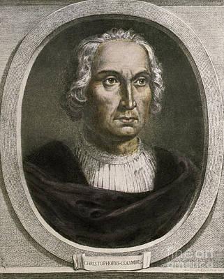 Christopher Columbus, Italian Explorer Art Print