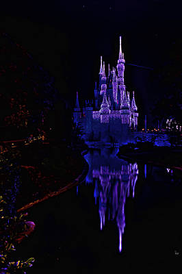 Photograph - Cinderella Castle Hdr by Jason Blalock