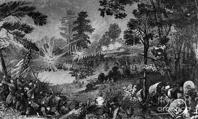 Civil War: Bull Run, 1861 Print by Granger