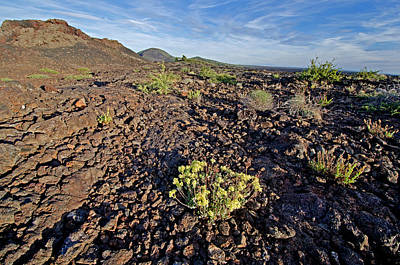 Craters Of The Moon Art Print by Elijah Weber