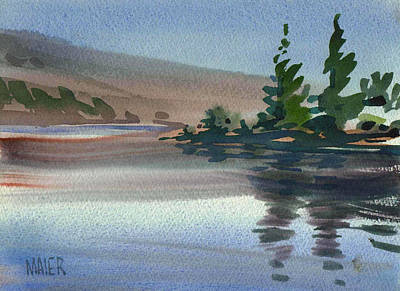 Crystals Painting - Crystal Springs by Donald Maier