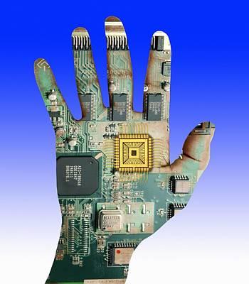 Cybernetics And Robotics Art Print by Victor De Schwanberg
