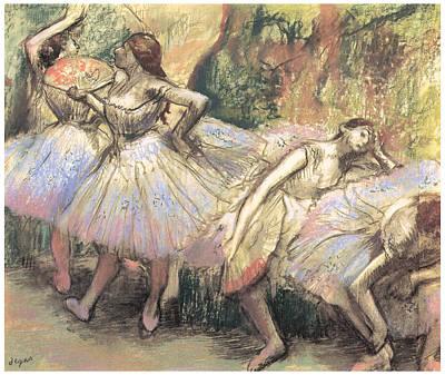 Dancers Art Print by Edgar Degas