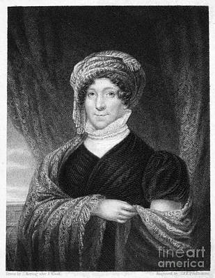 Dolley Madison Photograph - Dolley Madison (1768-1849) by Granger