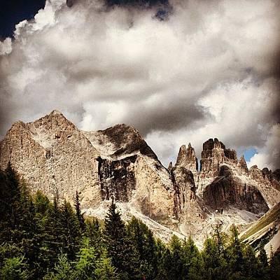 Mountain Wall Art - Photograph - Dolomiti by Luisa Azzolini