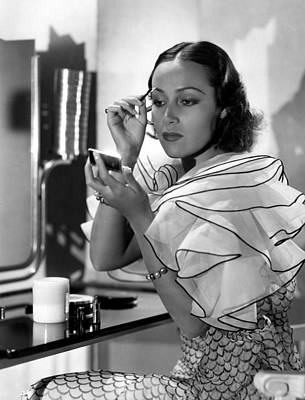 Puffed Sleeves Photograph - Dolores Del Rio, Ca. 1930s by Everett