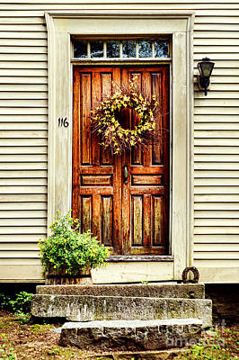Door Art Print by HD Connelly