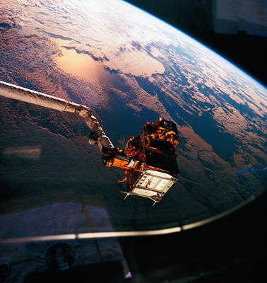Space Exploration Photograph - Earth Viewed From The Space Shuttle by Stockbyte