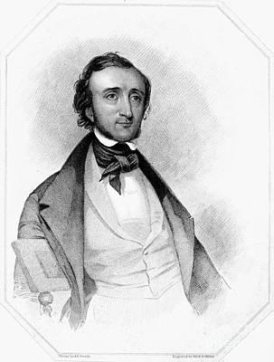 Edgar Allan Poe (1809-1849) Art Print by Granger