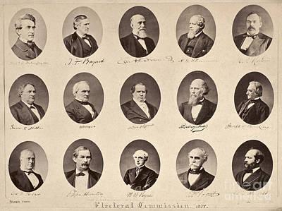 Matthew Joseph Williams Photograph - Electoral Commission, 1877 by Granger