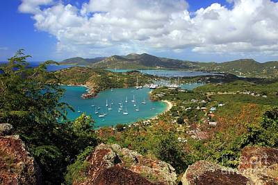 English Harbor Antigua Art Print by Sophie Vigneault
