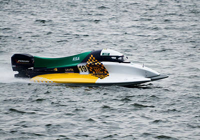 Photograph - F1 Power Boat by Chua  ChinLeng