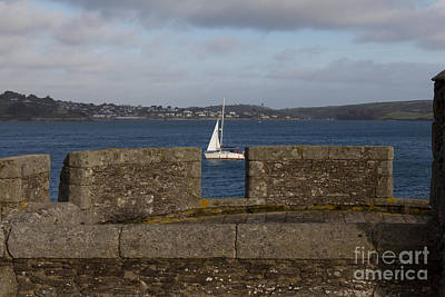 Kernow Photograph - Falmouth Harbour  by Brian Roscorla