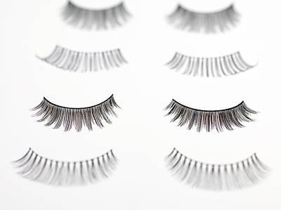 False Eyelashes Art Print by Tek Image