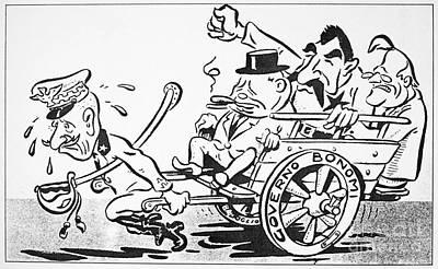 F.d. Roosevelt Cartoon Art Print by Granger