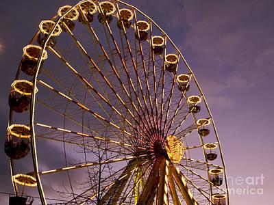 Clermont Photograph - Ferris Wheel by Bernard Jaubert