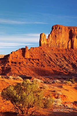 Photograph - First Light Over Sentinel Mesa by Brian Jannsen