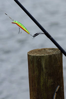 Photograph - Fishing Lure by David Lester