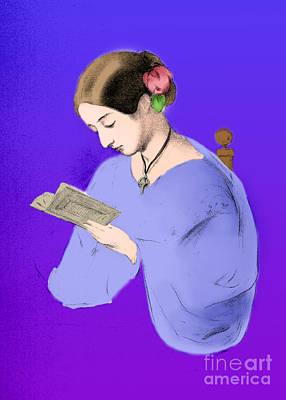 Florence Nightingale, English Nurse Print by Science Source