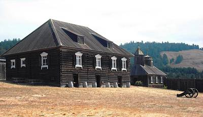 Photograph - Fort Ross Russian Settlement by Kelly Manning