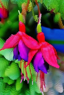 Fuchsia Blossom Art Print