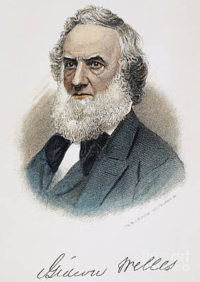 Gideon Welles (1802-1878) Art Print by Granger