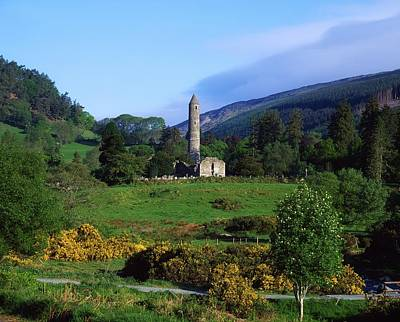 Glendalough, Co Wicklow, Ireland Art Print by The Irish Image Collection