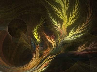 Grass Art Print by Michele Caporaso