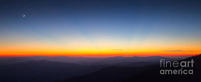 Great Smokie Mountains Sunset Art Print by Dustin K Ryan