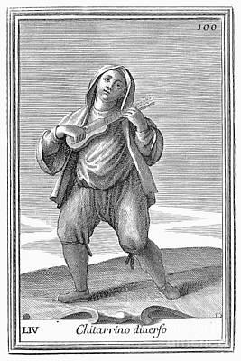 Guitar, 1723 Art Print by Granger