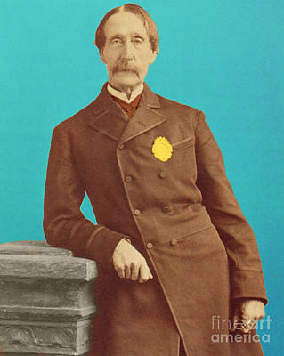 Henry Bergh, American Founder Of Aspca Art Print by Photo Researchers