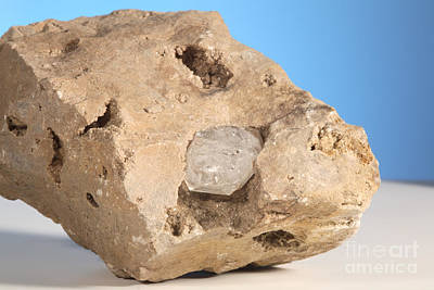 Terminate Photograph - Herkimer Diamond by Ted Kinsman