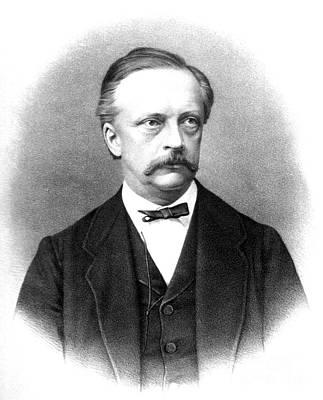 Hermann Von Helmholtz, German Physician Art Print by Science Source