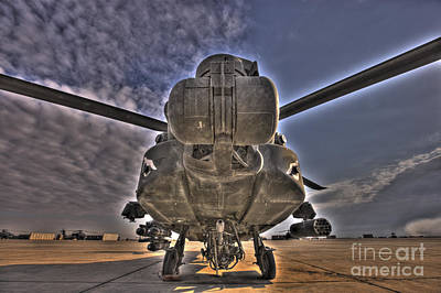 Photograph - High Dynamic Range Photo Of An  Ah-64d by Terry Moore