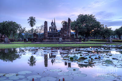 Historical Temple Park In Thailand. Original by Anek Suwannaphoom
