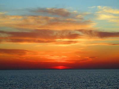 Photograph - Huron Skies by Cyryn Fyrcyd