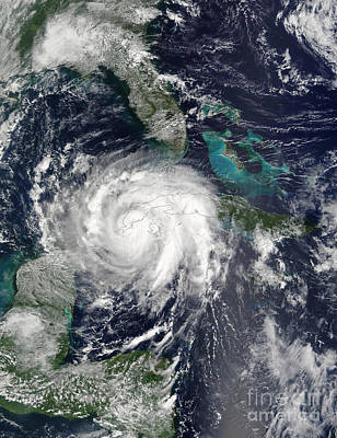 Lili Photograph - Hurricane Lili by Stocktrek Images