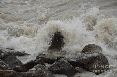 Photograph - Hurricane Sandy by Randy J Heath