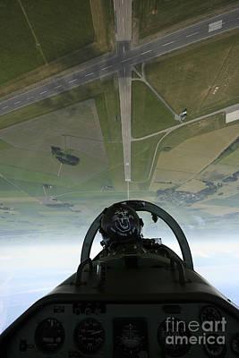 Inside The Pilatus Pc-7 Turboprop Art Print