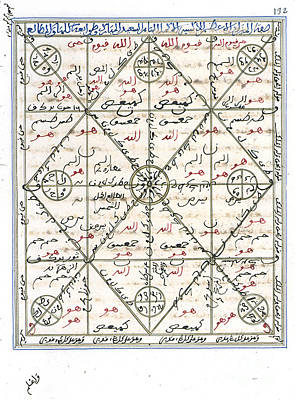 Islamic Alchemy Manuscript, 14th Century Art Print by Science Source