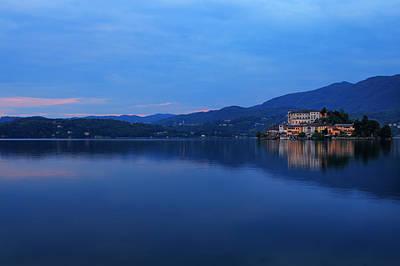 Island Of San Giulio On Lake Orta Art Print by Joana Kruse