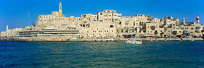 Jaffa Harbour Panorama Art Print by Daniel Blatt