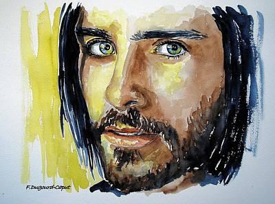 Jared Leto Art Print by Francoise Dugourd-Caput