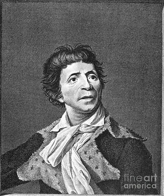 Jean-paul Marat (1743-1793) Art Print by Granger