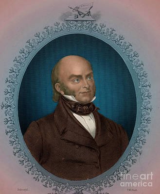 Abigail Photograph - John Quincy Adams, 6th American by Photo Researchers