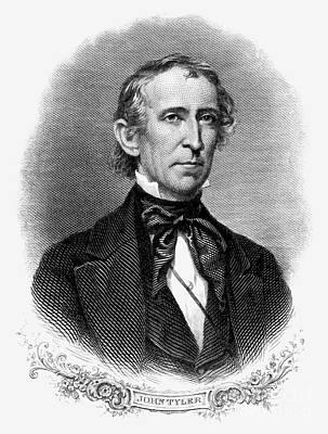 John Tyler (1790-1862) Art Print by Granger