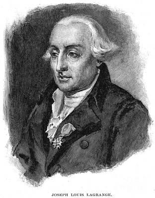 Joseph Louis Lagrange Art Print by Granger
