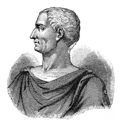 1st Century B.c Photograph - Julius Caesar (100 B.c.-44 B.c.) by Granger